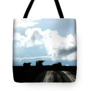 Tracks And Horns Tote Bag