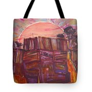 Tracks Tote Bag
