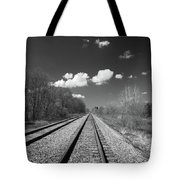 Tracks To Nowhere 1520 Tote Bag