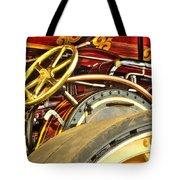 Traction Engine Steering Mechanism Tote Bag