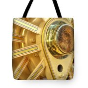 Traction Engine Wheel Tote Bag