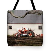 Tractor Barn Branch Tote Bag