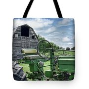 Tractor Barn Tote Bag