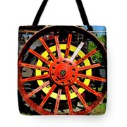 Tractor Big Wheel Tote Bag
