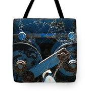 Tractor Engine IIi Tote Bag by Stephen Mitchell