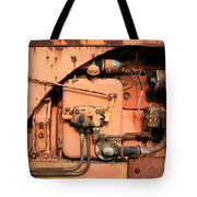 Tractor Engine V Tote Bag