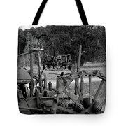 Tractor Graveyard Tote Bag