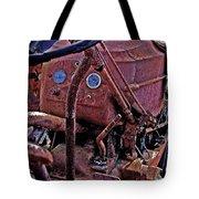 Tractor Parts Tote Bag