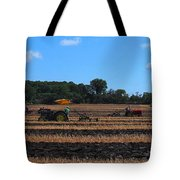 Tractors Competing Tote Bag