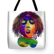 Tracy Mom Color Tote Bag