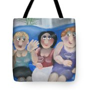 Tracy Tells All Tote Bag