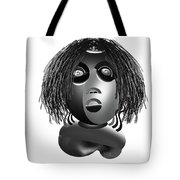 Tracys Mom Bw Tote Bag