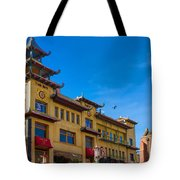Trade Mark Building On Grant St Tote Bag