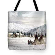 Trading Outpost, C1860 Tote Bag