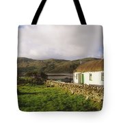 Traditional Cottage, Near Lough Rus Tote Bag