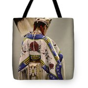 Pow Wow Traditional Dancer 1 Tote Bag