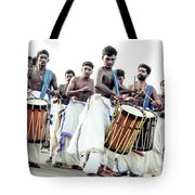 Traditional Drummers Tote Bag