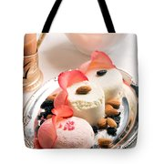 Traditional Indian Sweet Sandesh Tote Bag