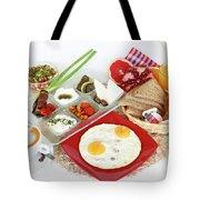 Traditional Israeli Breakfast Tote Bag