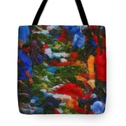 Traditional Market Tote Bag