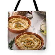 Traditional Oriental Hummus Tote Bag