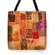 Traditional Patchwork Tapestry Tote Bag