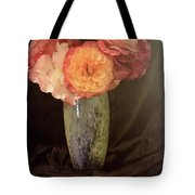 Traditional Rose Still Life Tote Bag