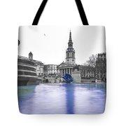Trafalgar Square Fountain London 3d Tote Bag