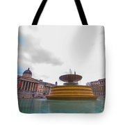 Trafalgar Square Fountain London 9 Tote Bag