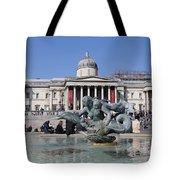 Trafalgar Square London Tote Bag