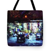 Traffic In The City Tote Bag