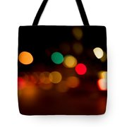Traffic Lights Number 11 Tote Bag