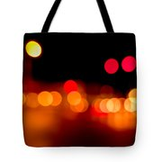 Traffic Lights Number 5 Tote Bag