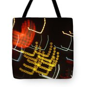Traffic Love Lights Tote Bag