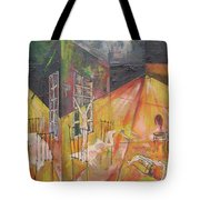 Tragedy Of Loneliness Tote Bag