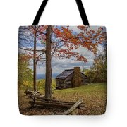 Trail Cabin Tote Bag