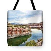 Trail Creek Canyon Tote Bag