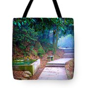 Trail In Woods Tote Bag