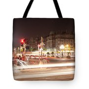 trail lines over the Liffey Tote Bag