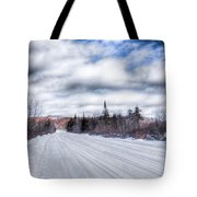 Trail One In Old Forge 2 Tote Bag