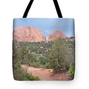 Trail Through The Garden Tote Bag