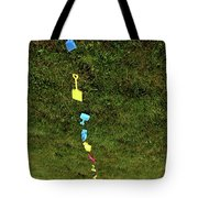 Trail To The Sand Tote Bag