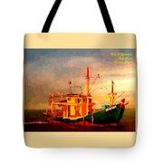 Trailer Ship H A Tote Bag