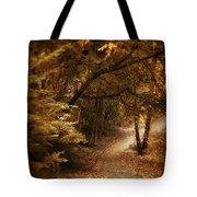 Trailing Autumn Tote Bag