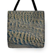 Trails In The Sand Tote Bag