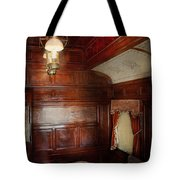 Train - Car - The Lovers Car Tote Bag by Mike Savad
