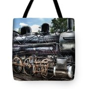 Train - Engine - 385 - Baldwin 2-8-0 Consolidation Locomotive Tote Bag