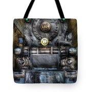 Train - Engine -1218 - Norfolk Western Class A - 1218 - Front View Tote Bag