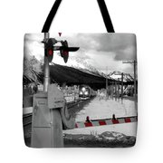 Train A Comin Tote Bag