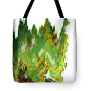 Train At Royal Gorge Tote Bag